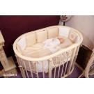 Комплект в овальную кроватку Incanto Подушки (6 предметов) 125*75 см