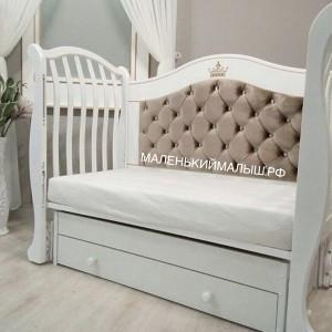 АКЦИЯ Детская кроватка Габриэлла Люкс Плюс (маятник универсальный)+ортопедический матрас