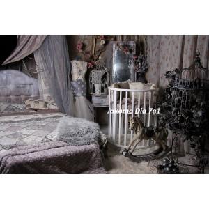 Круглая кроватка-трансформер Jakomo Dia 7 в 1