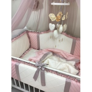 Комплект в кроватку Marele Розовый Жемчуг