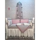 Комплект в кроватку Marele Розовый кварц