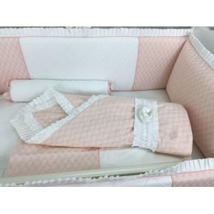 Комплект в кроватку Marele Коллекция розовое золото