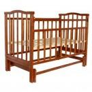 Детская кроватка Агат Золушка-3 (маятник поперечный)