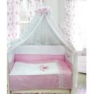 Комплект в кроватку Бомбус (Bombus) Абэль (7 предметов)