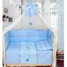 Комплект в кроватку Бомбус (Bombus) Бабочки (7 предметов)