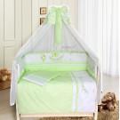 Комплект в кроватку Бомбус (Bombus) Веселая семейка (7 предметов)