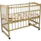 Детская кроватка Фея 204 (колесо-качалка)