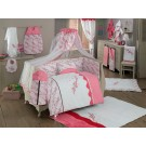 Комплект в кроватку Kidboo Bello Fiore (6 предметов)