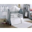 Комплект в кроватку Kidboo Blossom Linen (6 предметов)