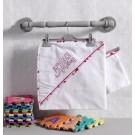 Полотенце уголок+варежка Kidboo Happy Birtday