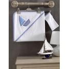 Полотенце уголок+варежка Kidboo Blue Marine