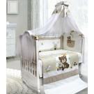 Комплект в кроватку L'abeille Друзья (7 предметов)