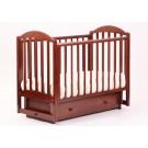 Детская кроватка Кубаньлесстрой (Лель) АБ 17.2 Лилия Люкс (маятник поперечный)