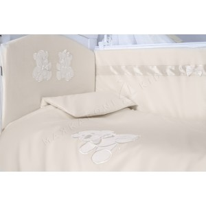 Комплект в кроватку Makkaroni Kids Тедди (6 предметов)