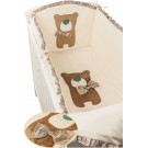 Комплект в кроватку Makkaroni Kids Toy Teddy (6 предметов)