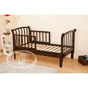 Кроватка для дошкольников Можга (Красная звезда) Савелий С-823 раздвижная с барьером