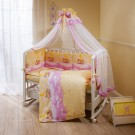 Комплект в кроватку Perina Аманда (4 предмета)
