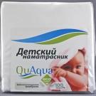 Непромокаемый наматрасник Qu Aqua натяжной (микрофибра)