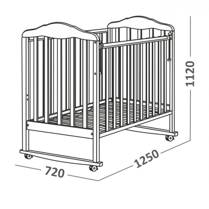 Чертежи детской кроватки