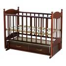 Детская кроватка Ведрусс Эля (маятник продольный)