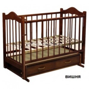 Детская кроватка Ведрусс Кира №4 (маятник поперечный)