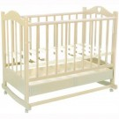 Детская кроватка Ведрусс Лана №2 сердечко (колесо-качалка)