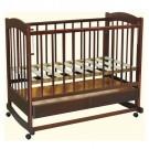 Детская кроватка Ведрусс Радуга №1 (колесо-качалка)