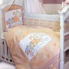 Комплект в кроватку Золотой Гусь Zoo Bear (7 предметов)